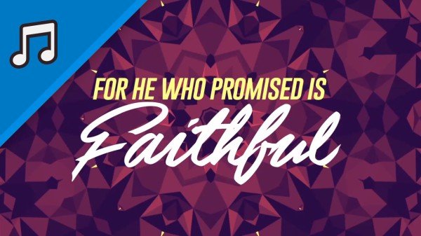 He Is Faithful Kids Worship Video for Kids Instrumental