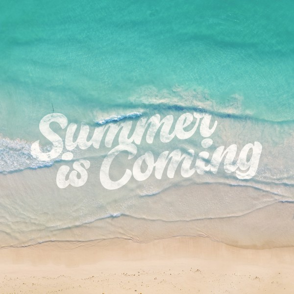 Summer Is Coming Social Media Graphic