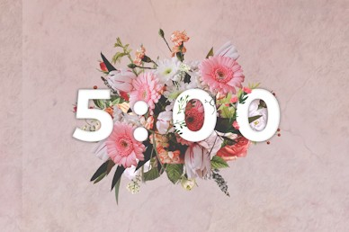 Mother's Day Flowers Church Video Countdown 5min