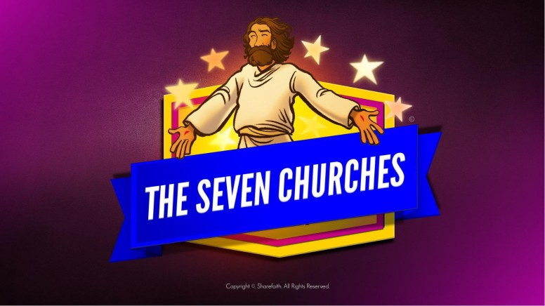 Revelation 2 3 The Seven Churches Kids Bible Story