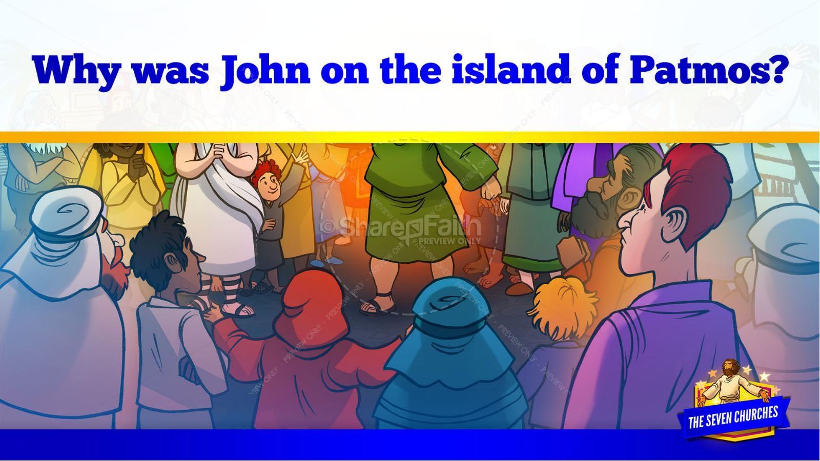Revelation 2 3 The Seven Churches Kids Bible Story | slide 12
