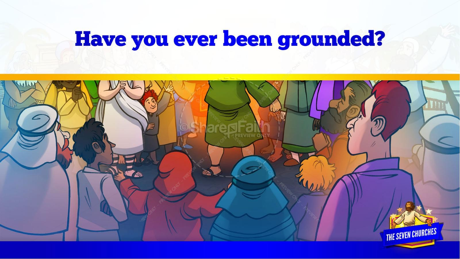 Revelation 2 3 The Seven Churches Kids Bible Story | slide 14