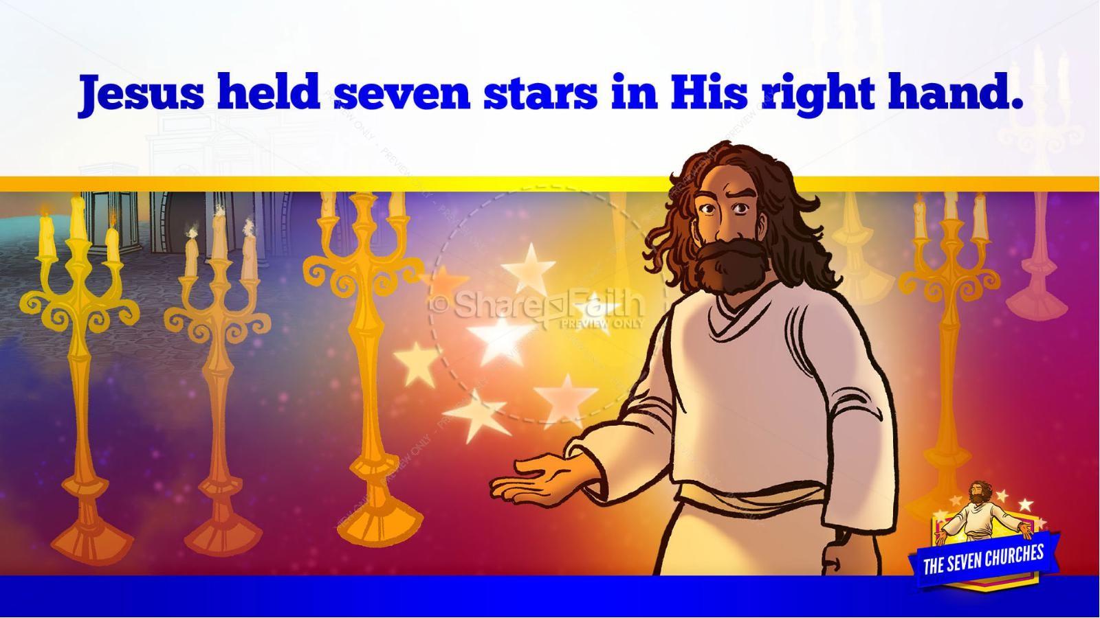 Revelation 2 3 The Seven Churches Kids Bible Story | slide 17