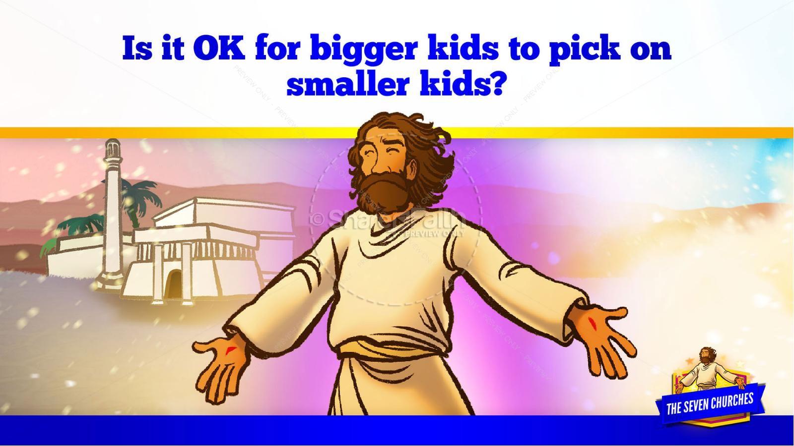 Revelation 2 3 The Seven Churches Kids Bible Story   slide 22