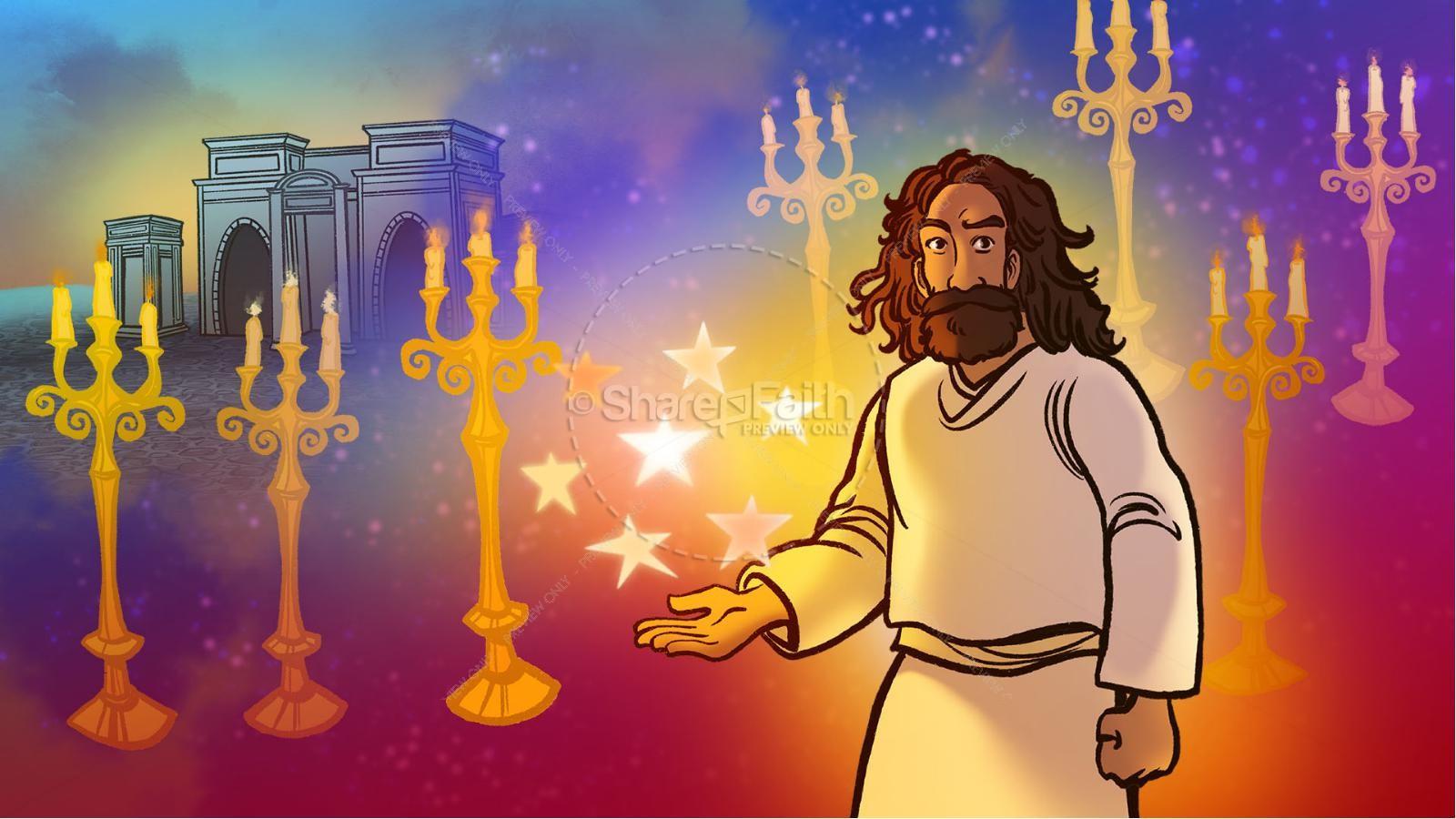 Revelation 2 3 The Seven Churches Kids Bible Story | slide 3