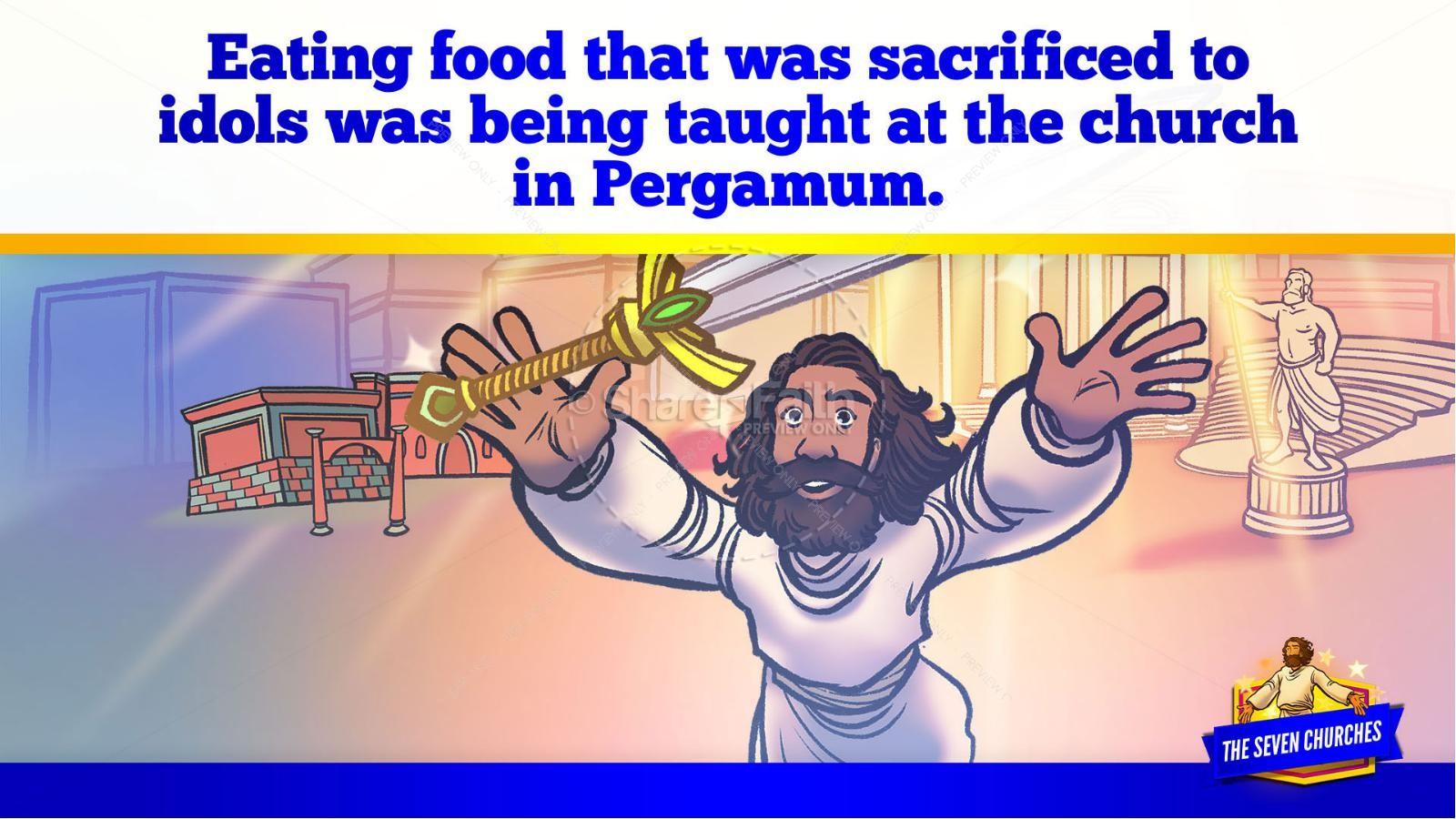 Revelation 2 3 The Seven Churches Kids Bible Story   slide 25