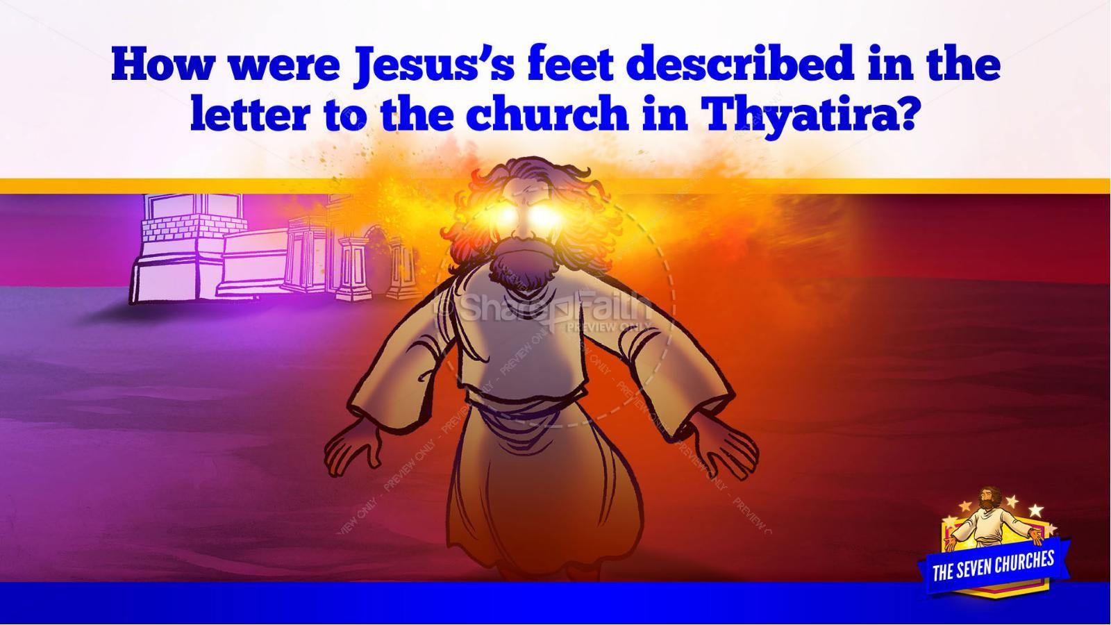 Revelation 2 3 The Seven Churches Kids Bible Story | slide 28