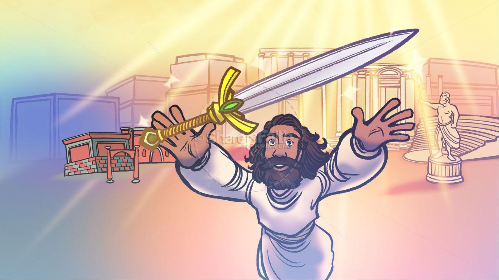 Revelation 2 3 The Seven Churches Kids Bible Story | slide 5