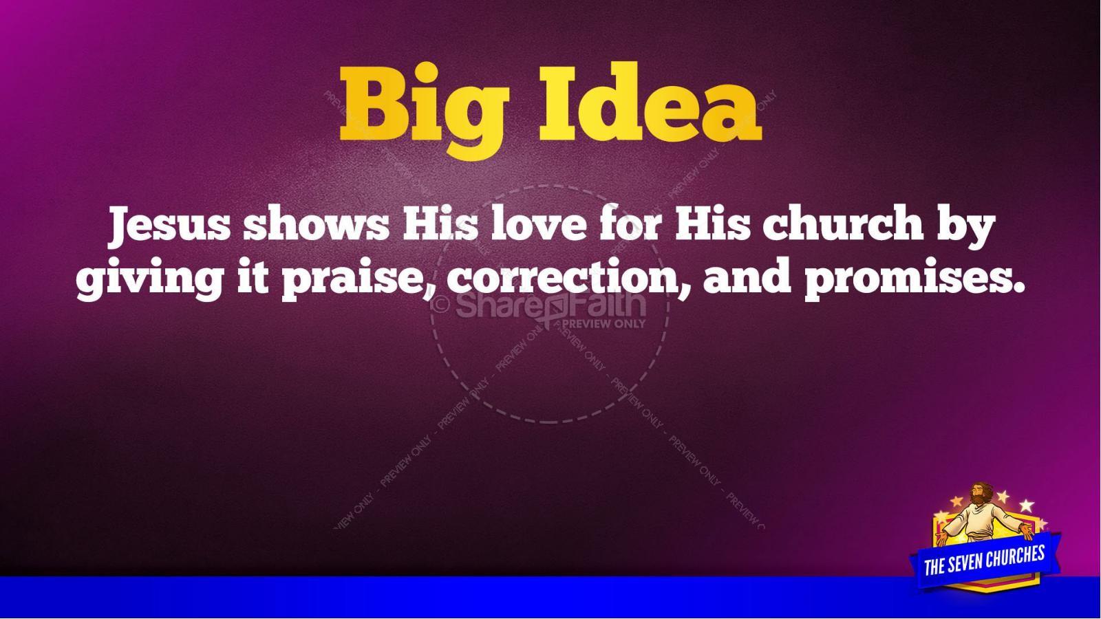 Revelation 2 3 The Seven Churches Kids Bible Story | slide 43
