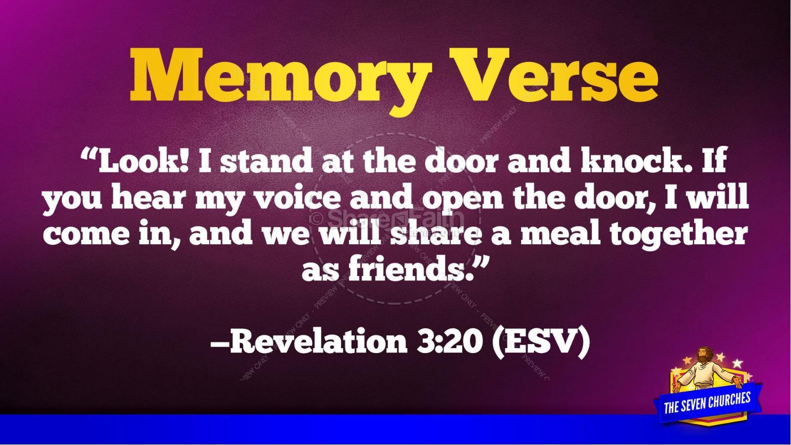 Revelation 2 3 The Seven Churches Kids Bible Story   slide 45