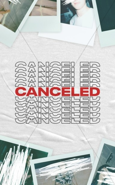 Canceled Church Bifold Bulletin