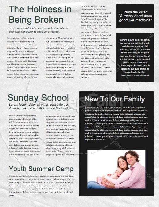 Canceled Church Newsletter