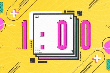 Grad Sunday Yellow Church Media 1min Countdown