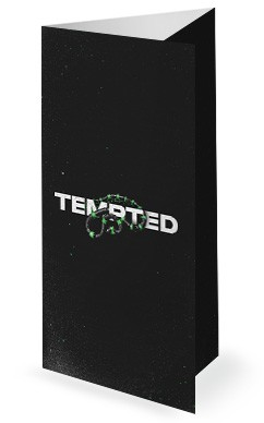 Tempted Church Trifold Bulletin