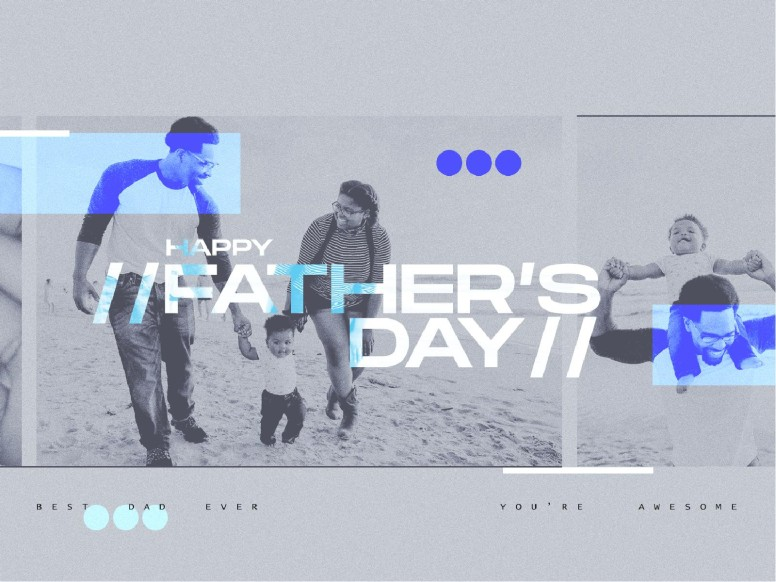 Father's Day Best Dad Church PowerPoint