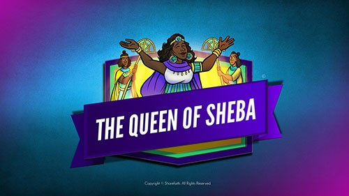 1 Kings 10 The Queen of Sheba Bible Video for Kids