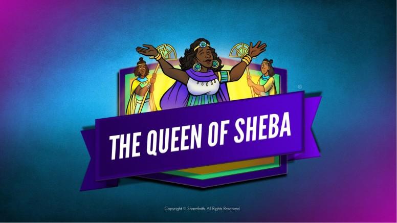 1 Kings 10 The Queen of Sheba Kids Bible Story