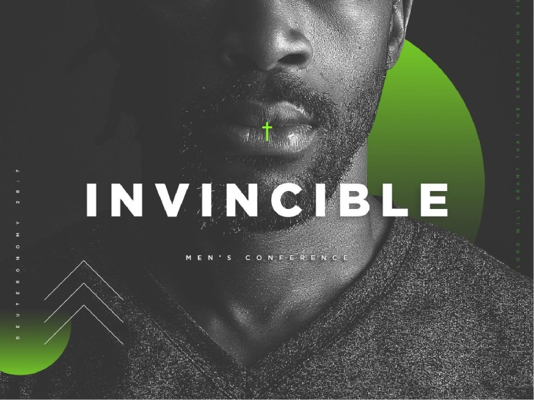 Invincible Men's Conference Church PowerPoint
