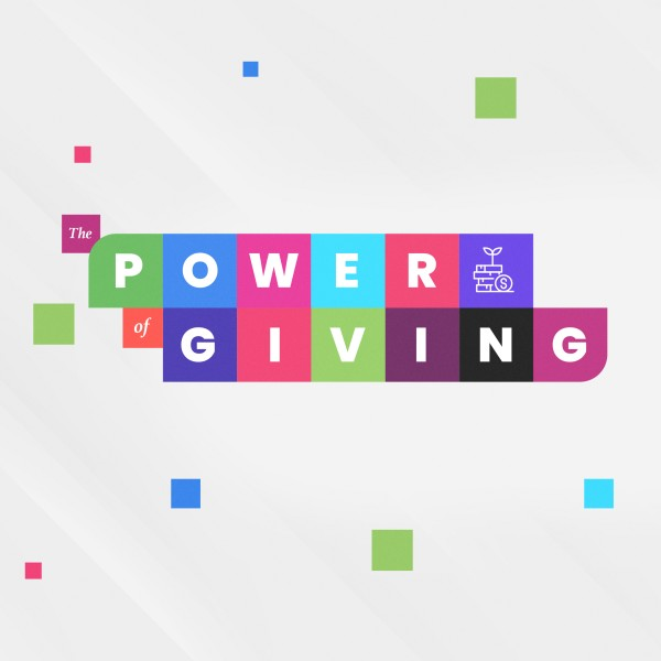 Power Of Giving Social Media Graphic