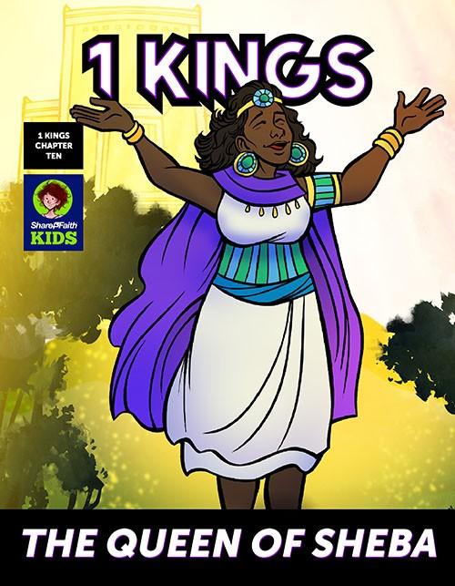 The Queen of Sheba Digital Bible Comic