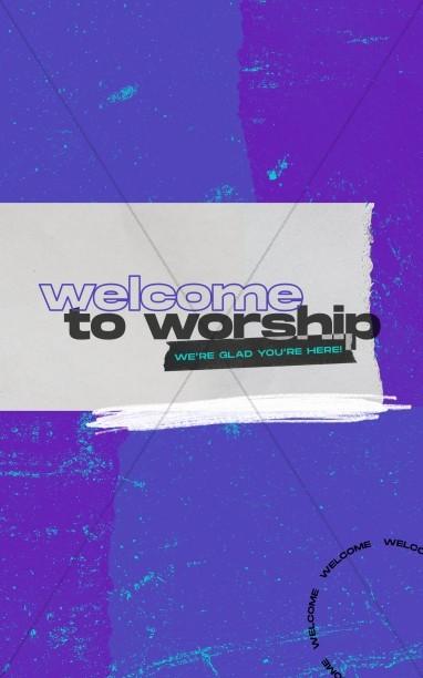 Special Guest Church Bifold Bulletin