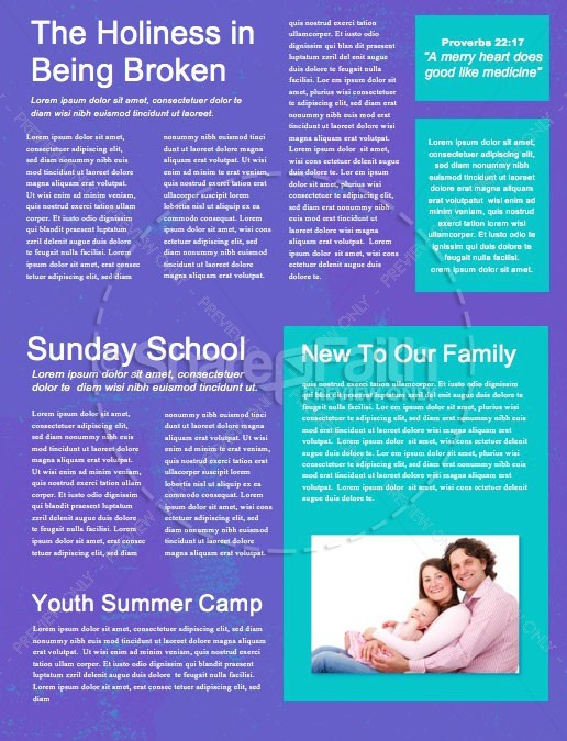 Special Guest Church Newsletter