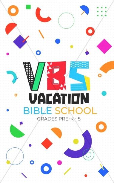 VBS Church Bifold Bulletin