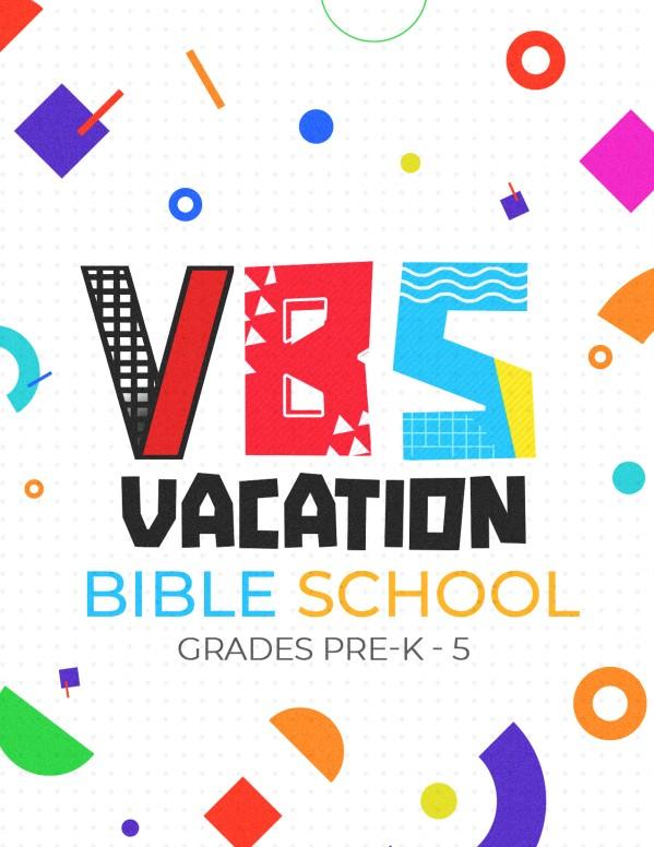 VBS Church Flyer