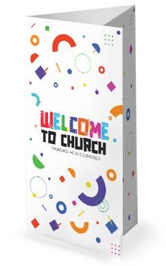 VBS Church Trifold Bulletin