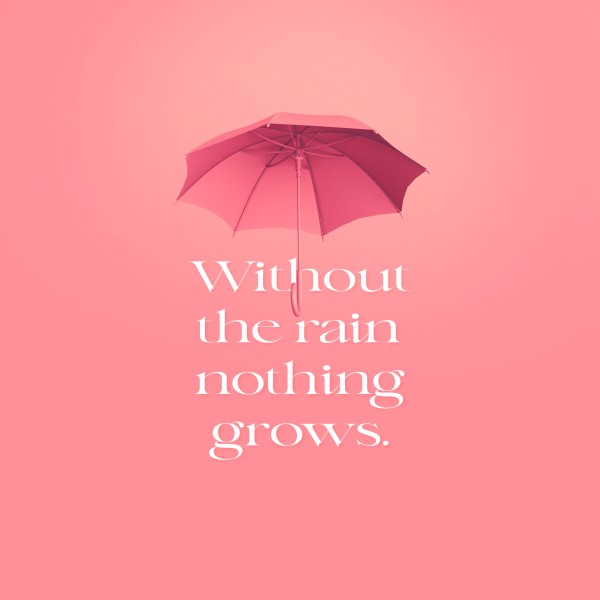 Without Rain Social Media Graphic