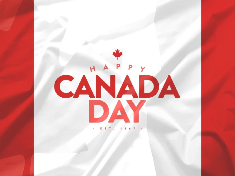 Canada Day Flag Church PowerPoint