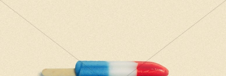 4th Of July Popsicle Church Website Banner