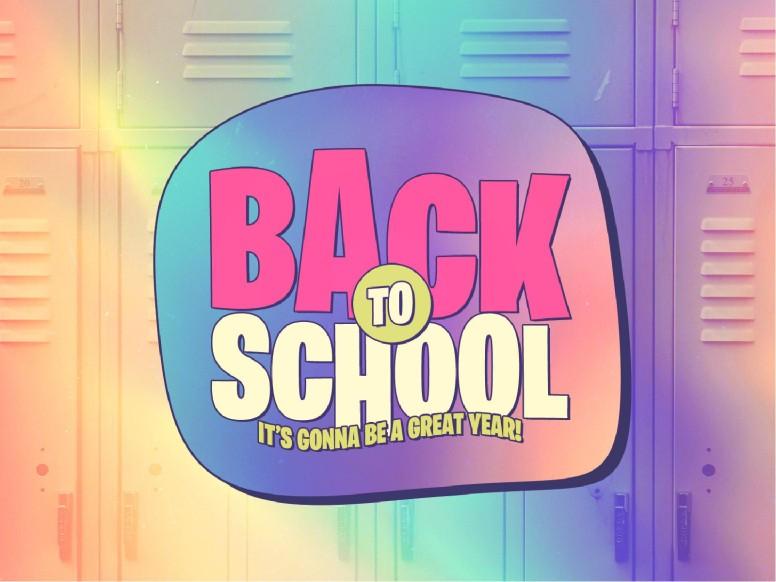 Back To School Lockers Church PowerPoint