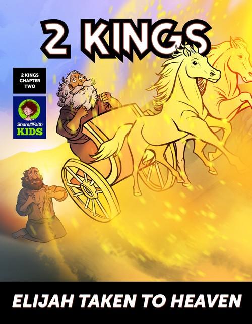2 Kings Elijah Taken to Heaven Digital Comic