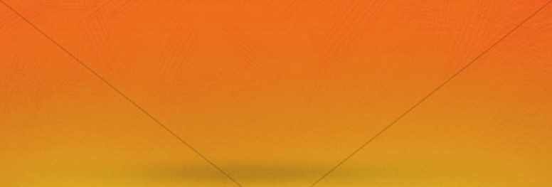 Back To School Orange Website Banner