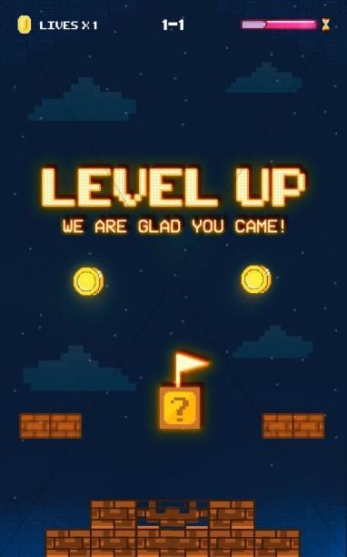 Level Up Church Bifold Bulletin