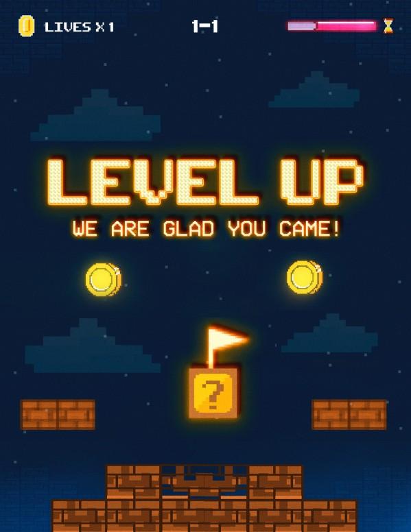 Level Up Church Flyer