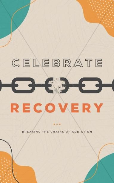 Celebrate Recovery Church Bifold Bulletin
