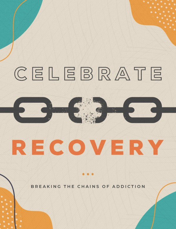 Celebrate Recovery Church Flyer