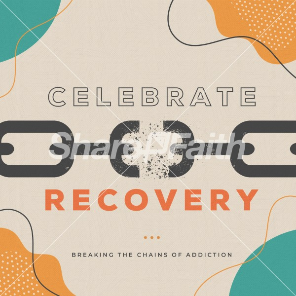 Celebrate Recovery Social Media Graphic