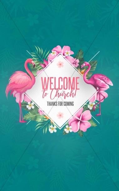 Flamingle Women's Group Church Bifold Bulletin