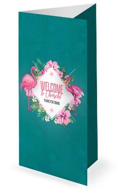 Flamingle Women's Group Church Trifold Bulletin