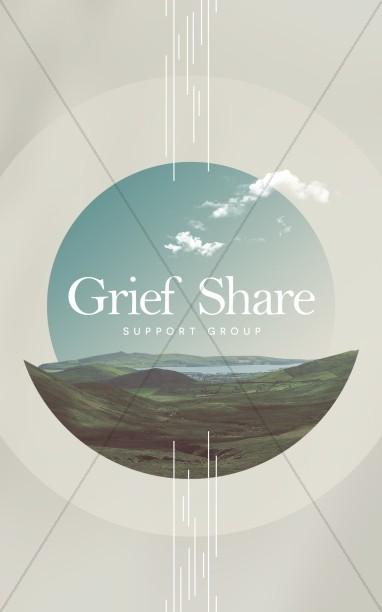 Grief Share Church Bifold Bulletin