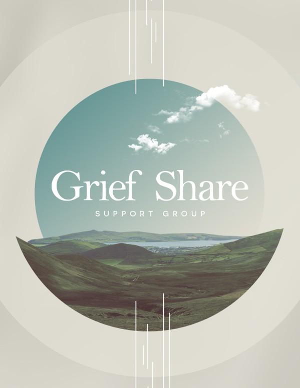 Grief Share Church Flyer
