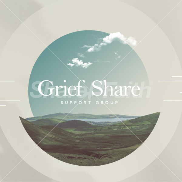 Grief Share Social Media Graphic