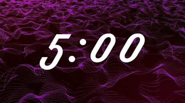 Particle Waves 5min Countdown