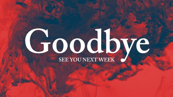 Ink Drop Goodbye Motion Graphics
