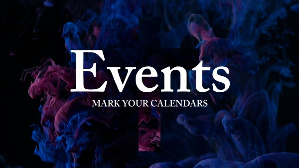 Ink Drop Events Motion Graphics