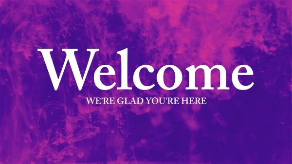 Ink Drop Welcome Motion Graphics