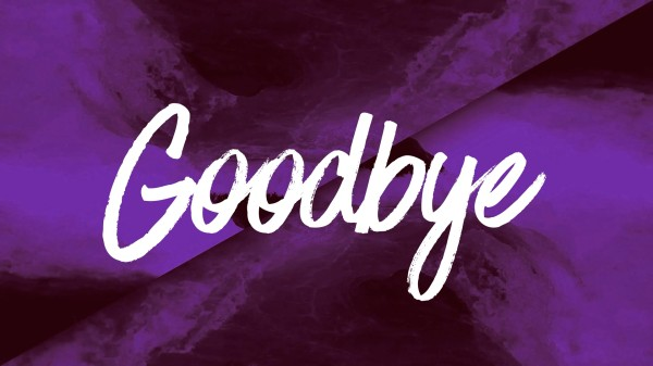 Ink Drop Goodbye Church Motion